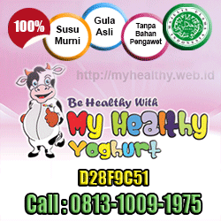 My Healthy Yoghurt Bogor, Yoghurt My Healthy, Reseller My Healthy Yoghurt