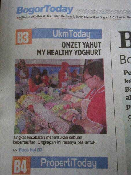 myhealthy yogurt